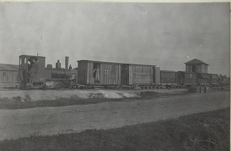 Feldbahn in Czernemoszno