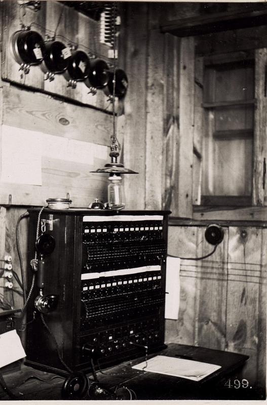 Telefonzentrale bei der 45.Schützendivision