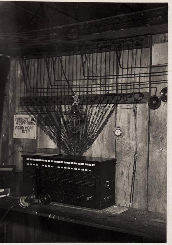 Telefonzentrale bei der 89.Brigade
