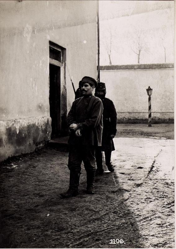 Wladimir Wolinsky: Separation der Konfidenten bei der Abwehrstelle