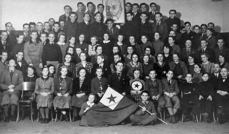 Esperanto-Kurs, Wien um 1935