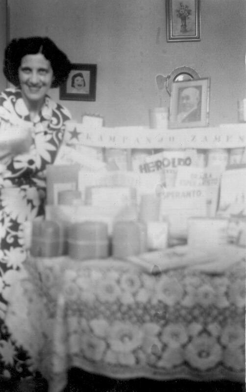 "Yolanda de Araujo Costa und ihre ""Kampanjo Zamenhof"", Rio de Janeiro 1950"