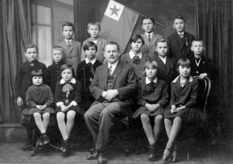 Albin Neuzil, Olmütz um 1930