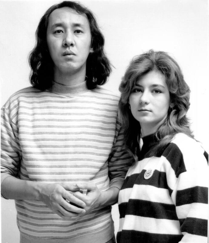 Jomart Amzeyev und Natalja Gerlach, 1990