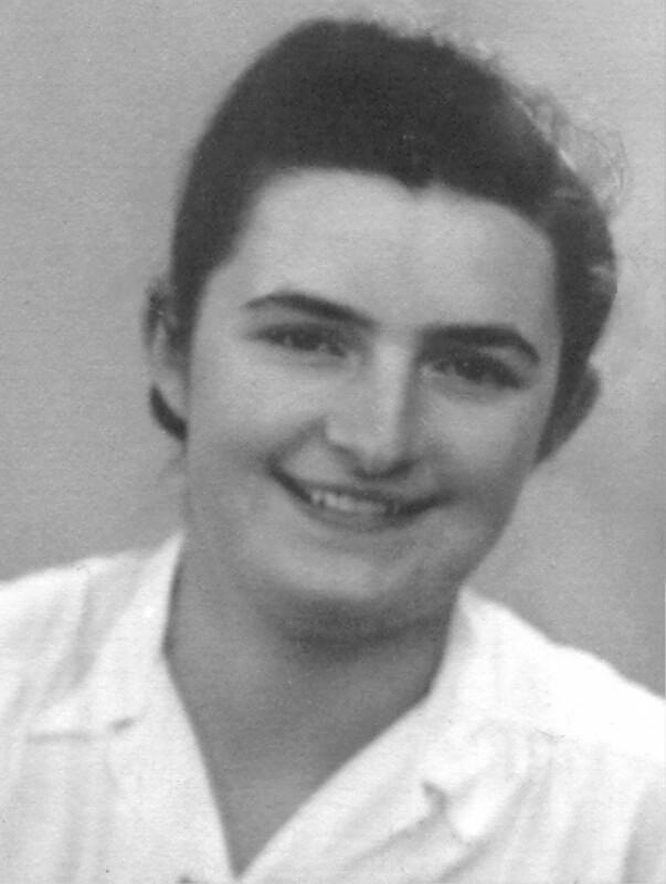 Ann van Eynde, um 1955