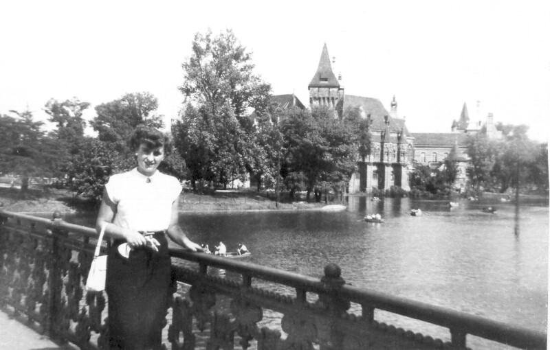 Hannelore Kondor, Vasvár um 1955