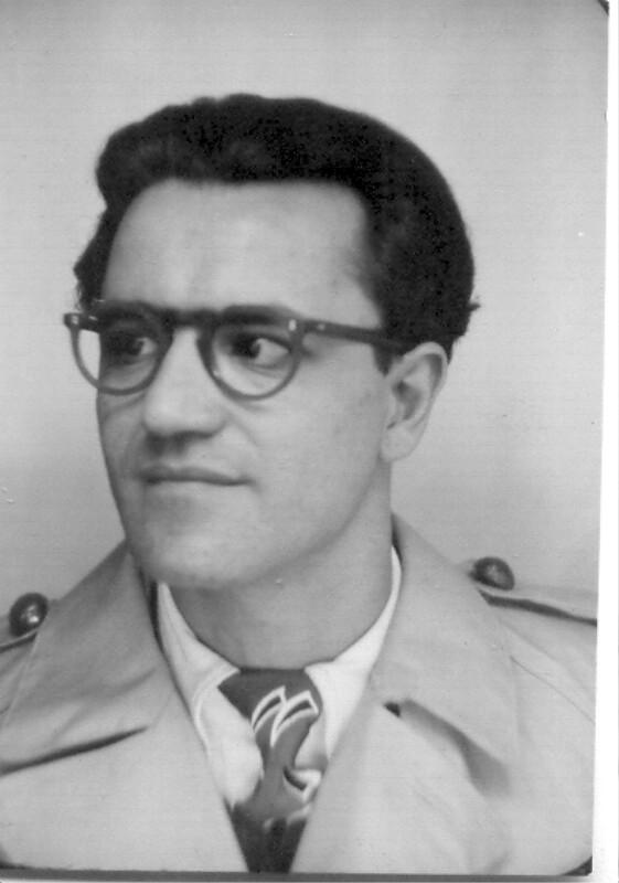 Ben Sion Ohana, um 1950