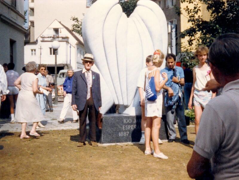 Einweihung des Esperanto-Denkmals, Graz 1987