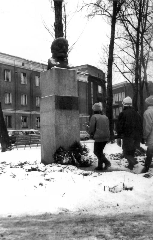 Zamenhof-Denkmal, Białystok 1988