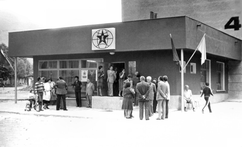 "Eröffnung des ""Esperanto-Hauses"", Sliven 1987"