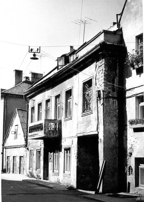 Zamenhofo Gatve 5, Kaunas um 1985