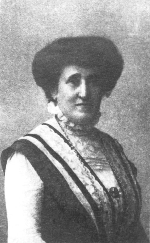 Klara Zamenhof, um 1915