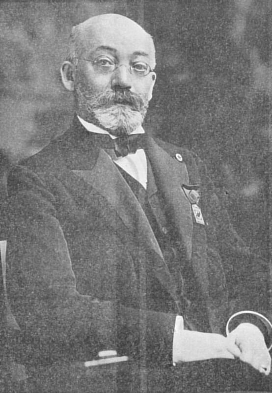Ludwik L. Zamenhof, Washington 1910