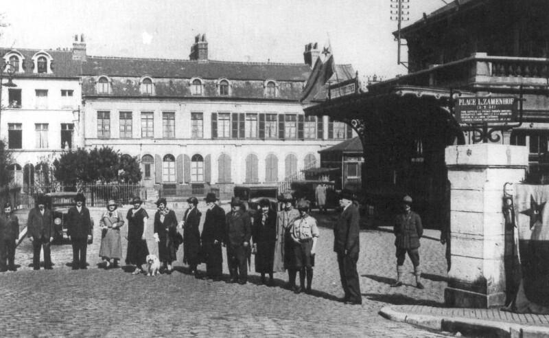 Place Zamenhof, Boulogne-sur-Mer 1931
