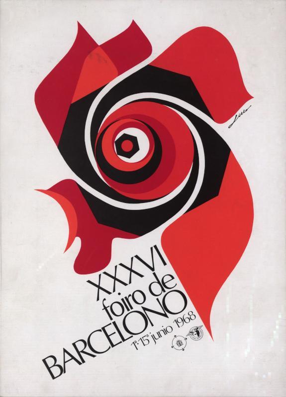 Aufsteller: XXXVI. Foiro de Barcelono : 1a - 15a junio 1968