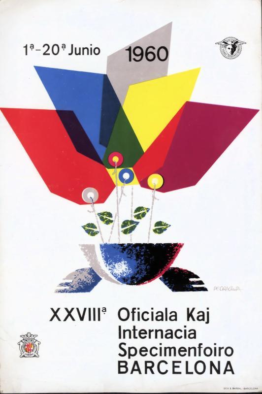 Aufsteller: XXVIIIa Oficiala kaj Internacia Specimenfoiro Barcelona : 1a - 20a junio 1960
