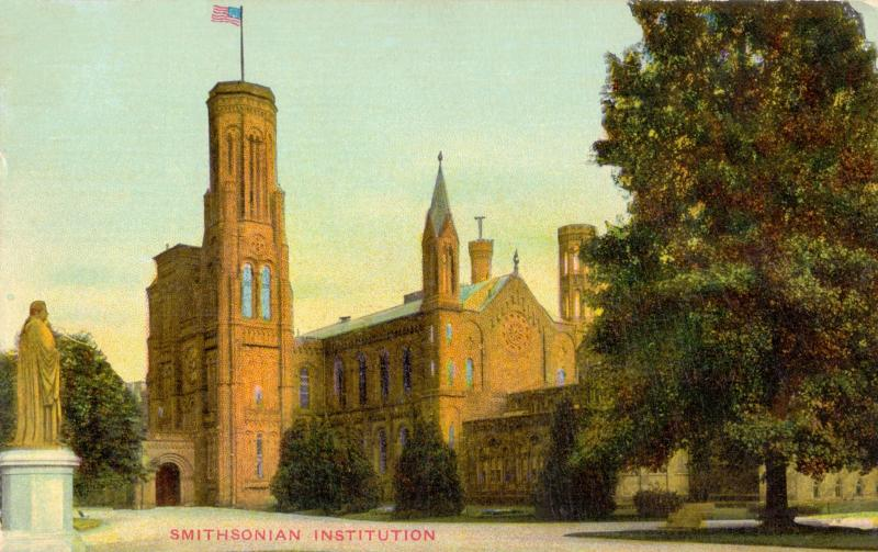 Ansichtskarte: Smithsonian Institution