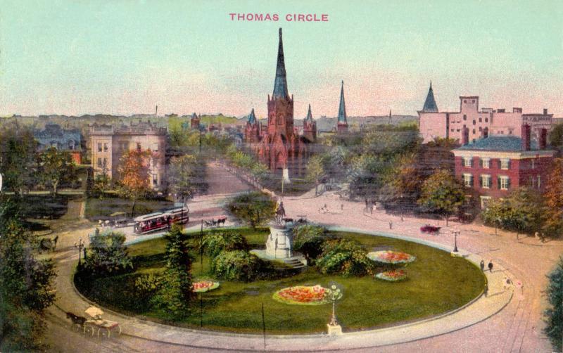 Ansichtskarte: Thomas Circle