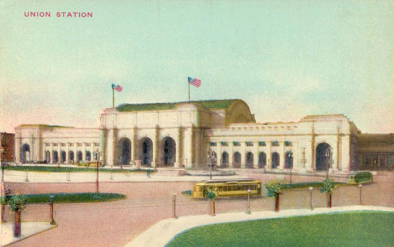 Ansichtskarte: Union Station