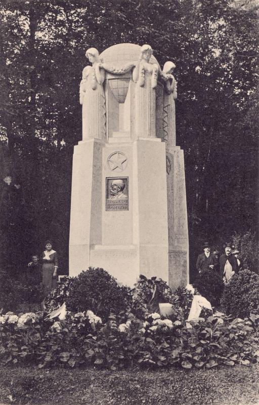 Ansichtskarte: Esperanto-Denkmal, Franzensbad um 1920