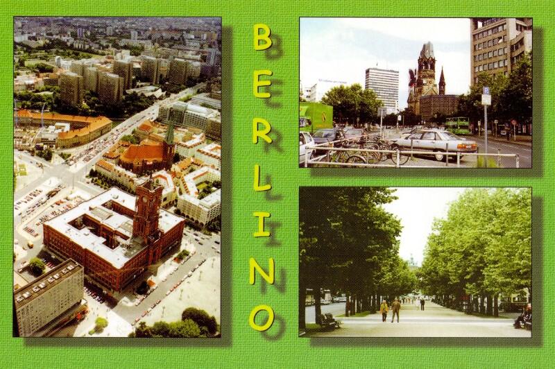 Ansichtskarte: Berlino