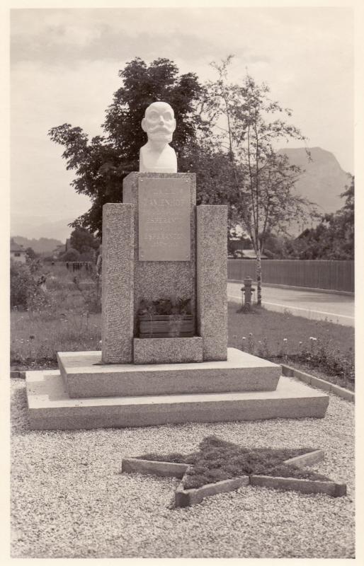 Ansichtskarte: Dr.-L.L.Zamenhof-Monument in Wörgl, Tirol