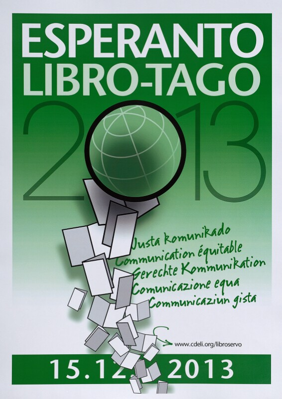 Plakat: Libro-Tago 2013