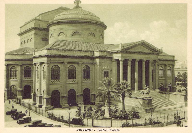 Ansichtskarte: Palermo - Teatro Granda
