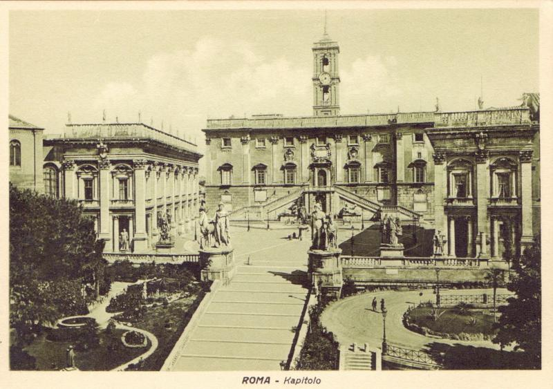 Ansichtskarte: Roma - Kapitolo