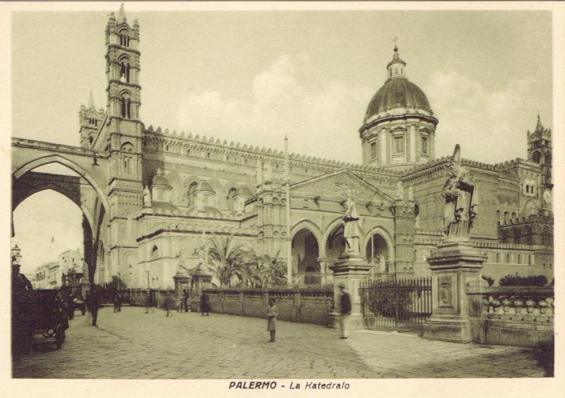 Ansichtskarte: Palermo - la katedralo