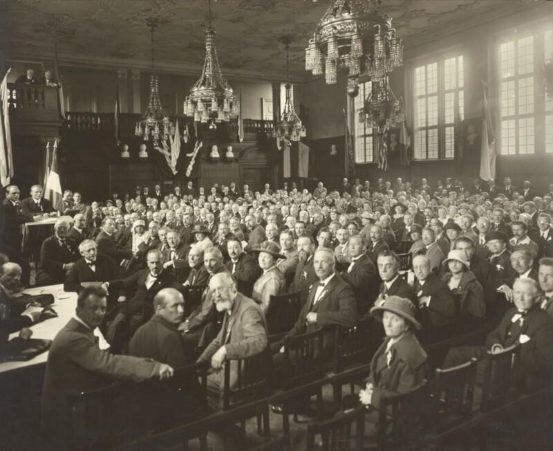 Esperanto-Kongress, Dänemark um 1920