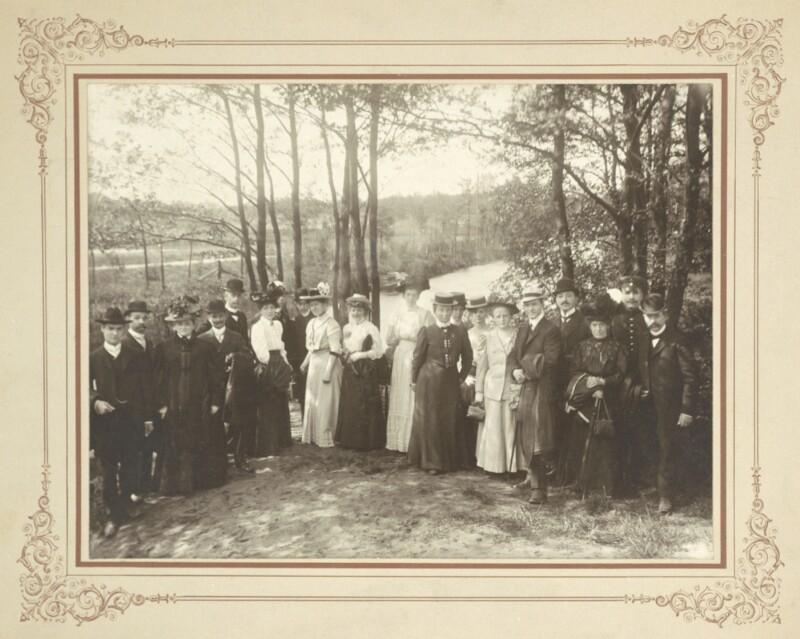 Esperantisten-Treffen, Altona um 1914