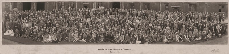 22. Esperanto-Weltkongress, Oxford 1930