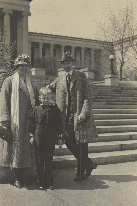 Familie Parrish, Kalifornien 1925