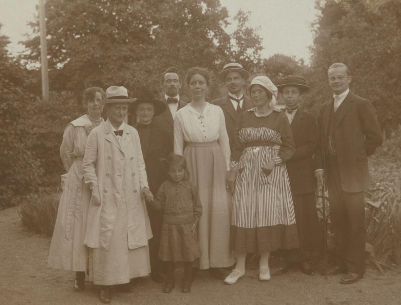Dänische Esperantisten, um 1915