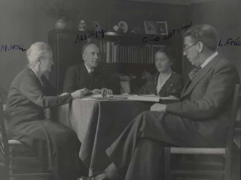 Esperanto-Kursleitung, Kopenhagen 1938