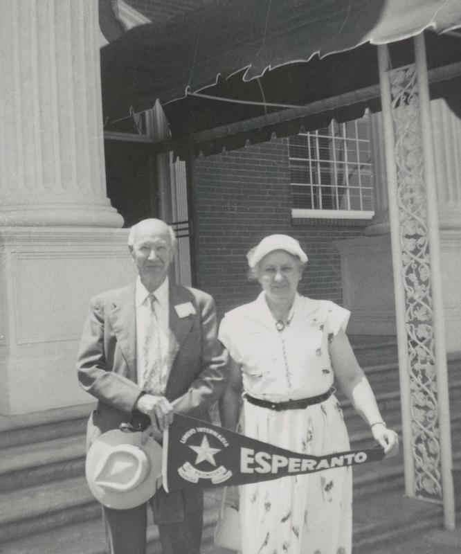 Donald und Paula Parrish, Kalifornien 1955