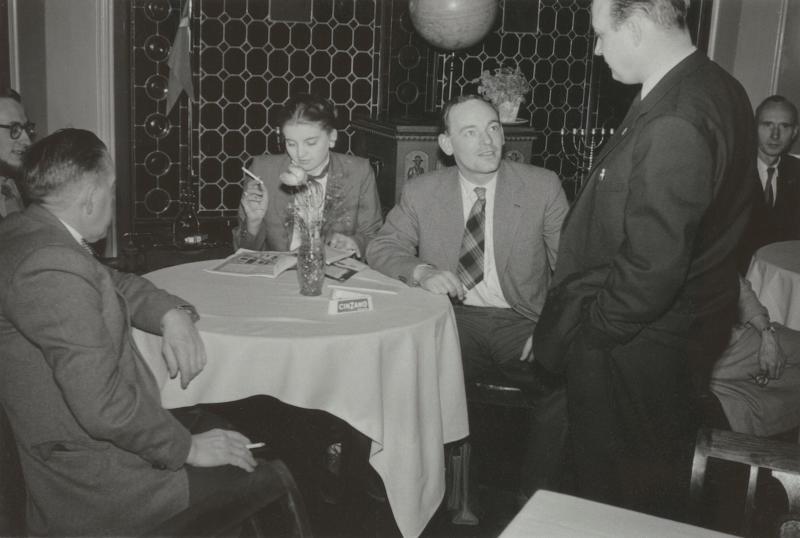 Dänische Esperantisten, 1957