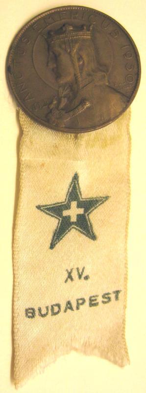 Abzeichen: 15a Katolika Esperanto-Kongreso, Budapeŝto 1930