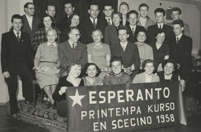 Esperanto-Kurs, Szczecin 1958