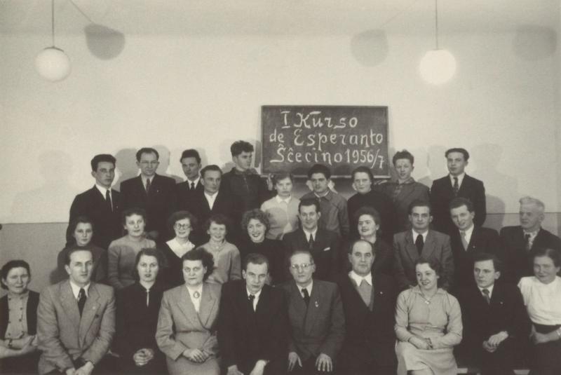 Esperanto-Kurs, Szczecin 1956/57