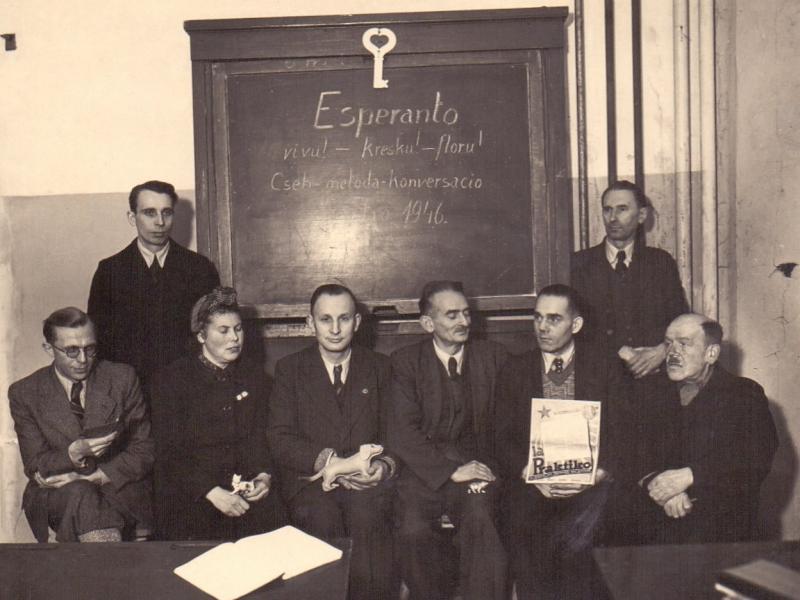 Esperanto-Kurs, Berlin 1946