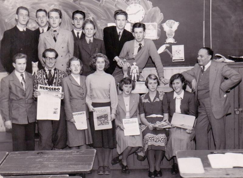 Esperanto-Kurs, Haugesund 1950