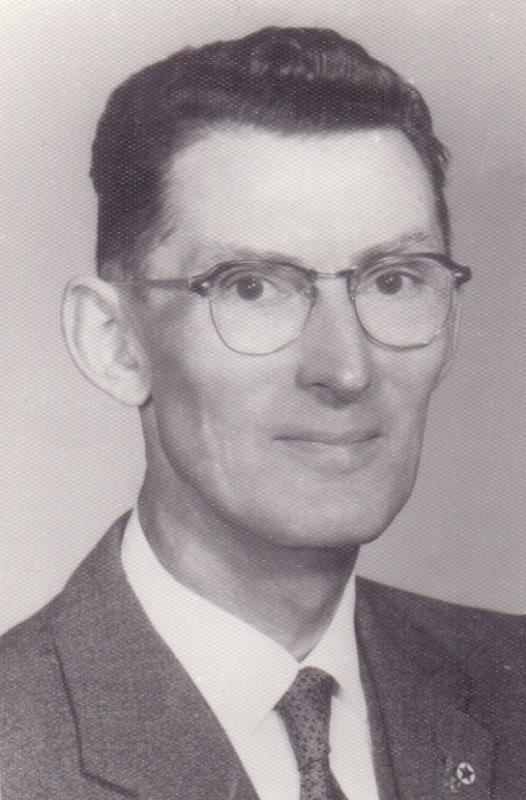 Joseph R. Scherer, um 1960
