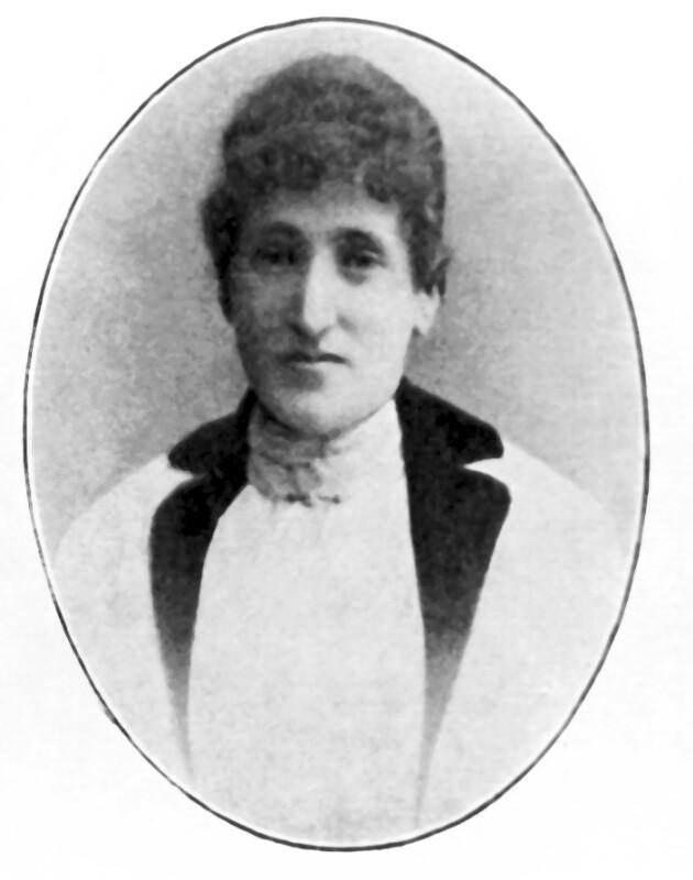 Klara Zamenhof, 1887