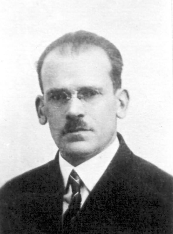 Adam Zamenhof, um 1925