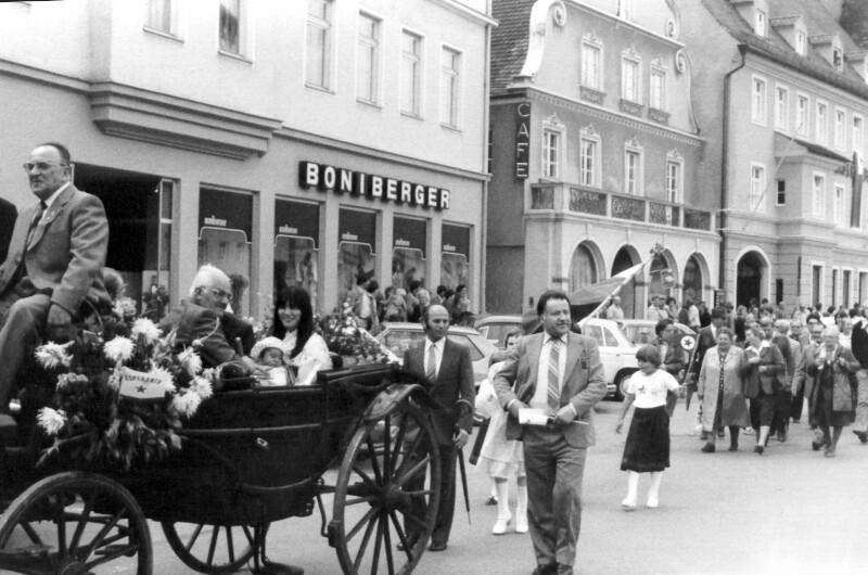 Einweihung der Esperanto-Straße, Pfaffenhofen 1980
