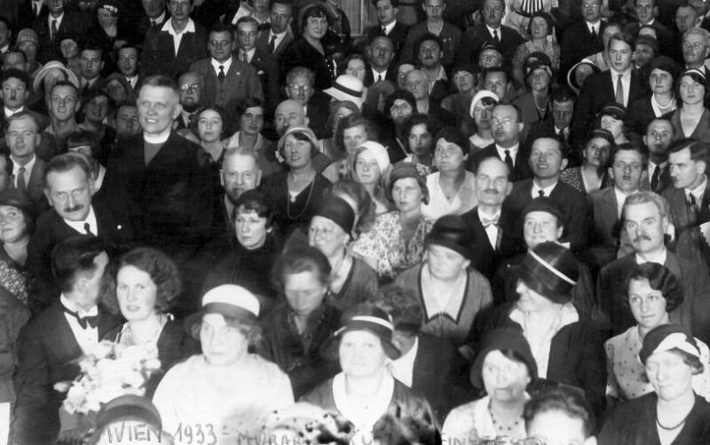 Esperanto-Massenkurs, Wien 1932