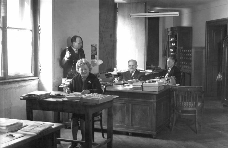 Internationales Esperanto-Museum, Wien um 1960