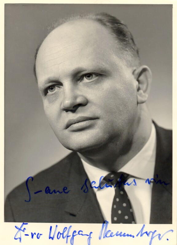 Wolfgang Stammberger, Coburg um 1970